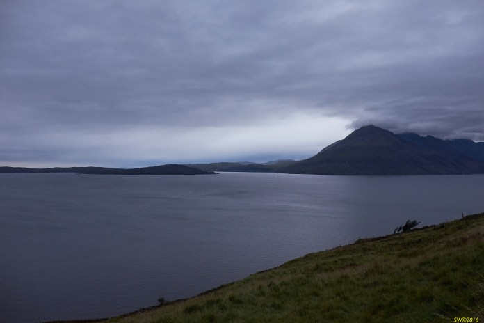 Cuillins, early night