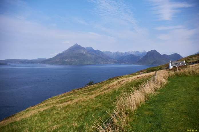 Cuillins, Midday, Fine day