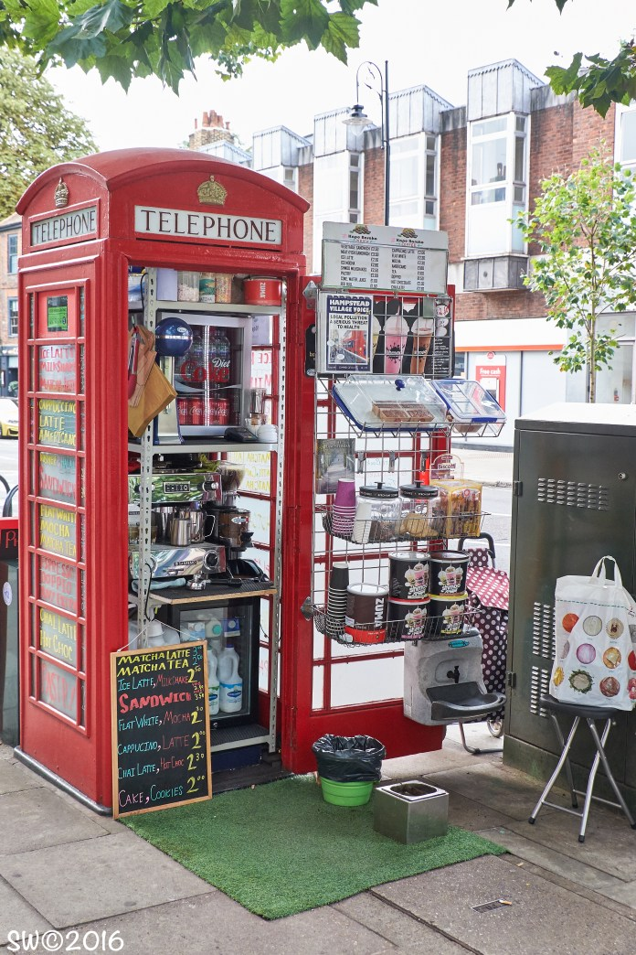 Phonebox café