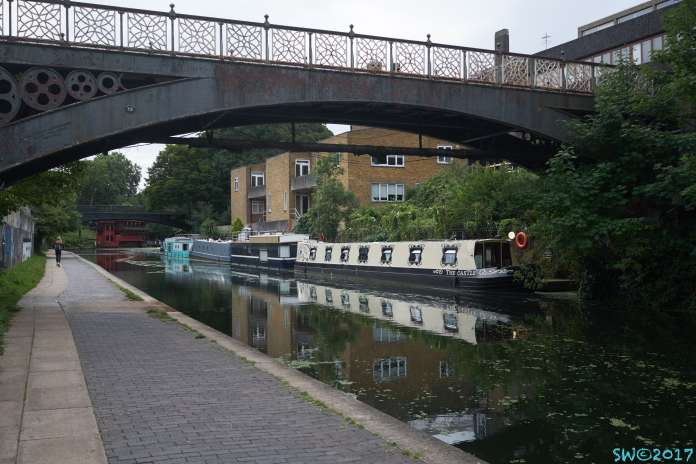 Houseboats on Regent's Canal