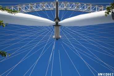London Eye Under
