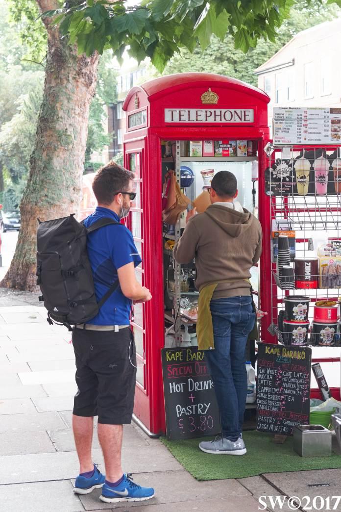 Telephone café (open)