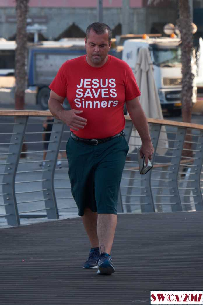 Jesus saves sinners