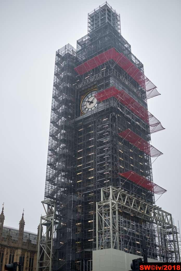 Big Ben wrapped