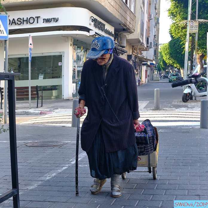 woman w cane again
