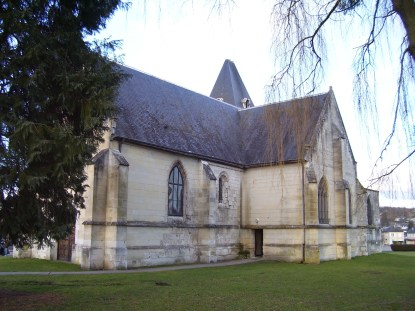 Rückseite von Saint-Denis, eigenes Foto, Lizenz CC by