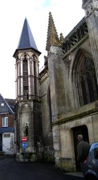 Türmchen an Saint-Martin mit Markus in der Ecke, eigenes Bild, Lizenz CC by