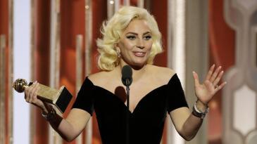 Lady Gaga Globes