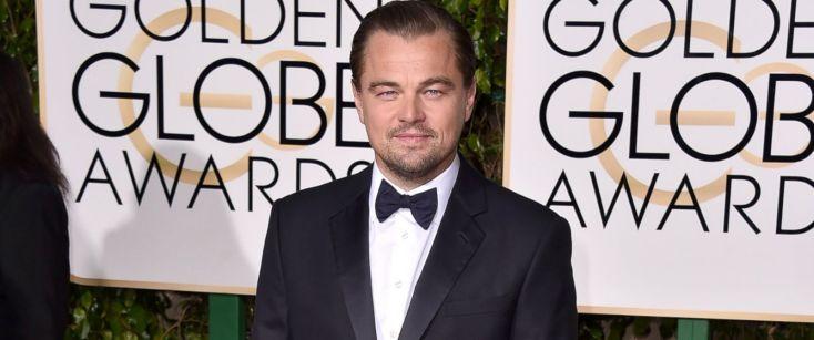 Leonardo Di Caprio Globes 2