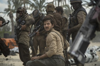 Rogue One: A Star Wars Story..Cassian Andor (Diego Luna)..Ph: Jonathan Olley..©Lucasfilm LFL 2016.
