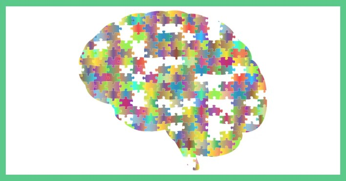 An image showing the pieces of the brain, being used as an illustration in an article about about making and saving money and mental health.