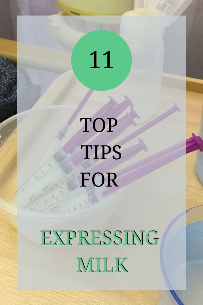 Top tips for expressing breast milk