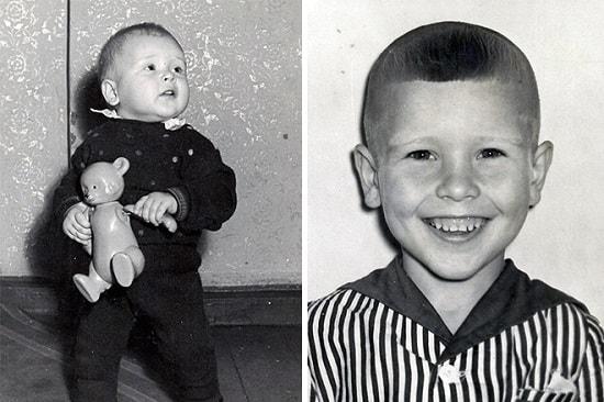 Александр Малинин в детстве