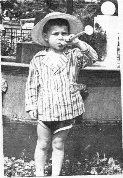 Олег Газманов в детстве