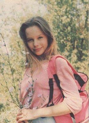 Елена Корикова в детстве