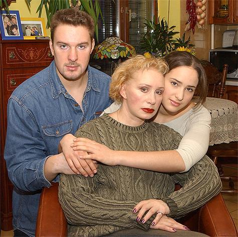 Татьяна Васильева с детьми