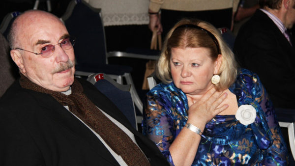 Ирина Муравьева с мужем Леонидом Эйдлиным