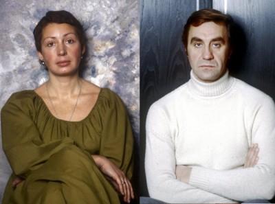 Татьяна Васильева с первым мужем Анатолием