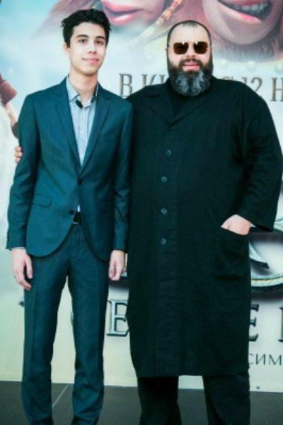 Максим Фадеев с сыном Саввой