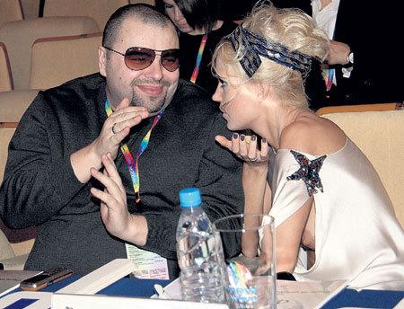 Максим Фадеев и певица Глюкоза