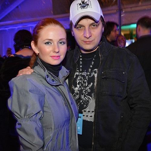 Лена Катина с Сашо Кузмановичем. Фото