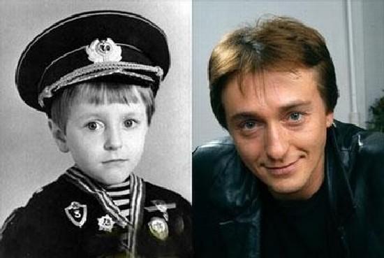 Сергей Безруков в детстве. Фото