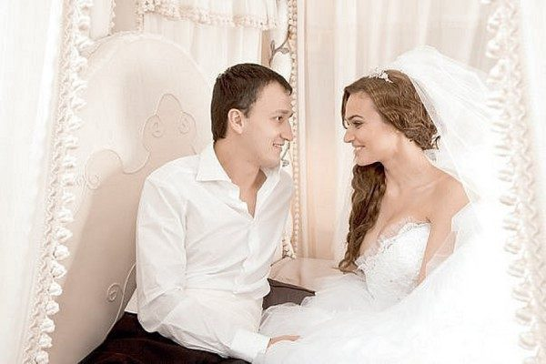 Алена Водонаева с Алексеем Малакаевым