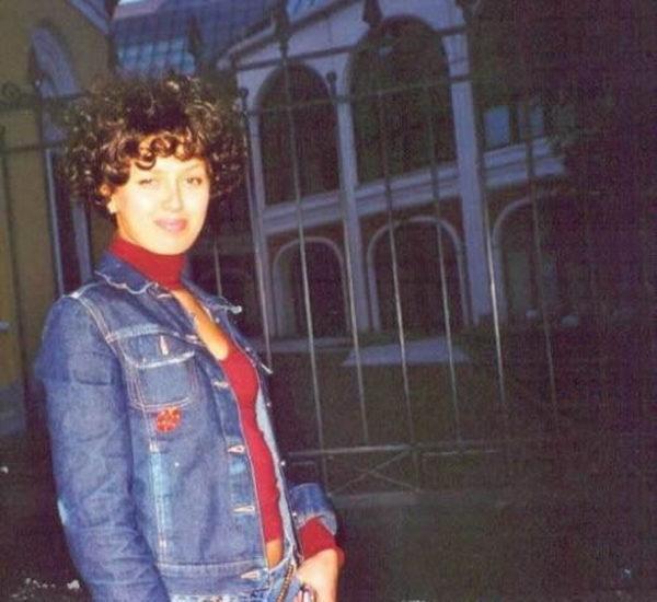Виктория Боня в молодости. Фото