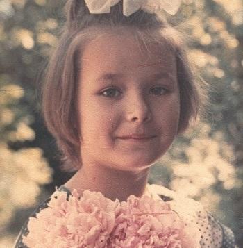 Оксана Федорова в детстве. Фото
