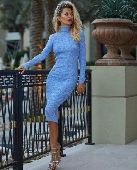 Телеведущая и модель - Виктория Боня. Фото