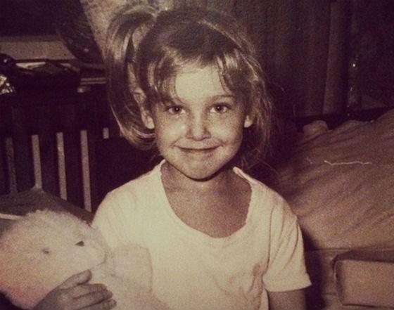 Юлия Ковальчук в детстве. Фото