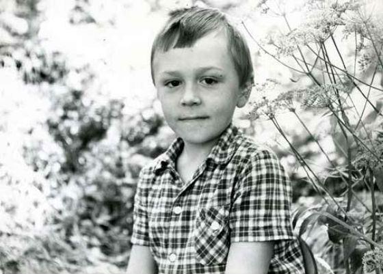 Сергей Шнуров в детстве. Фото