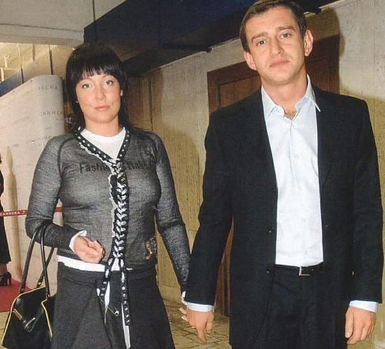 Константин Хабенский и его первая жена Анастасия