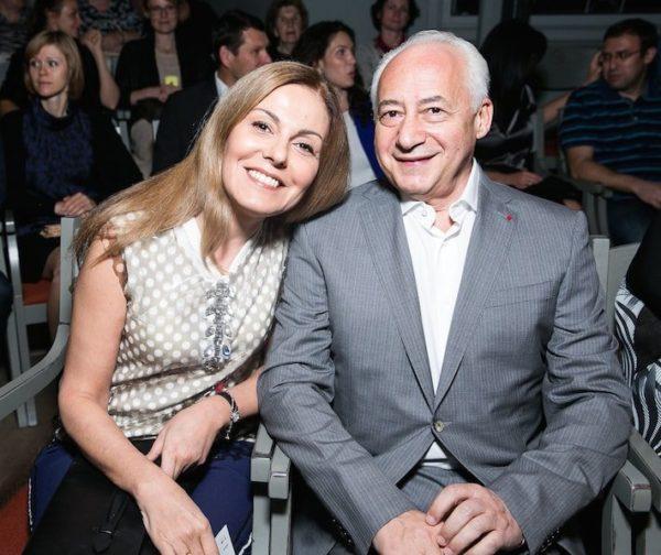 Владимир Спиваков с женой Сати