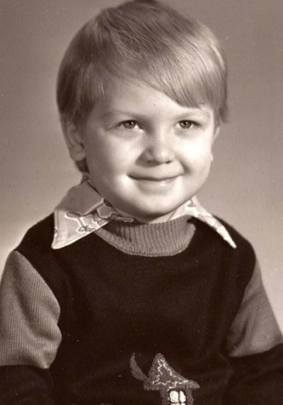 Сергей Светлаков в детстве. Фото