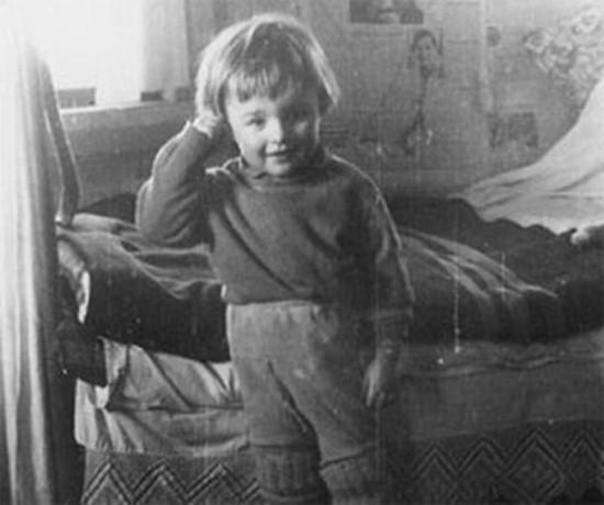 Михаил Пореченков в детстве. Фото