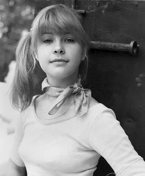 Татьяна Догилева в молодости. Фото