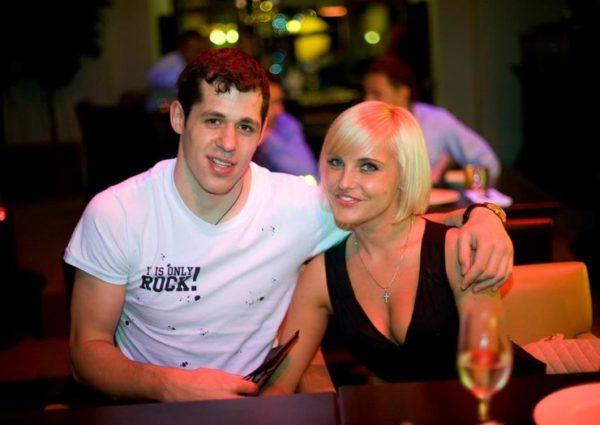 Женя Малкин и Оксана Кондакова. Фото