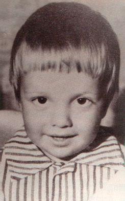 Андрей Губин в детстве. Фото