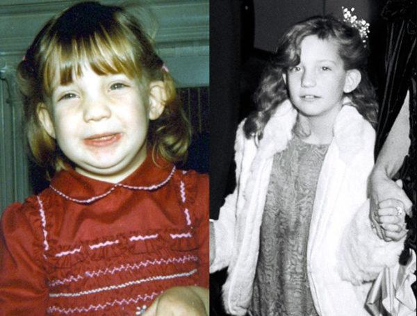 Кейт Хадсон в детстве. Фото