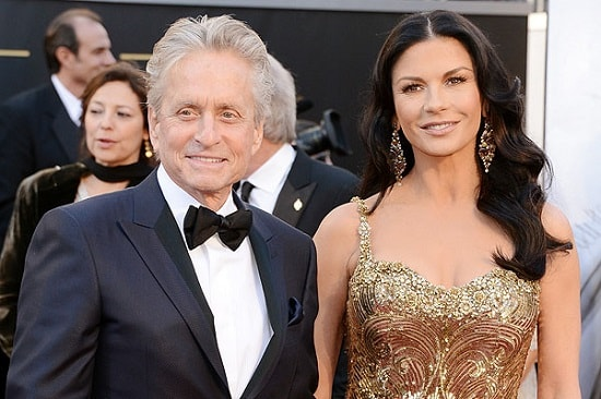 Кэтрин Зета-Джонс с мужем Майклом Дугласом