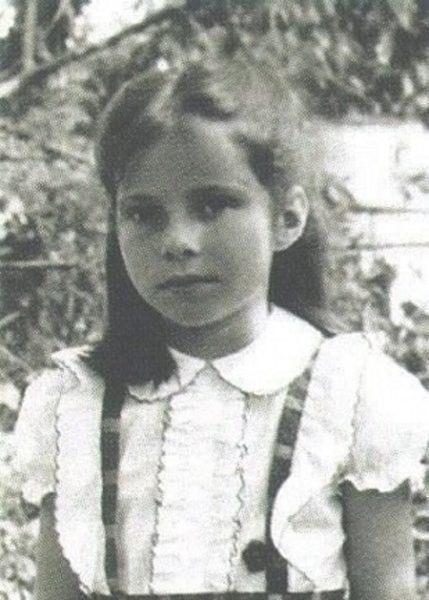 Екатерина Гусева в детстве. Фото