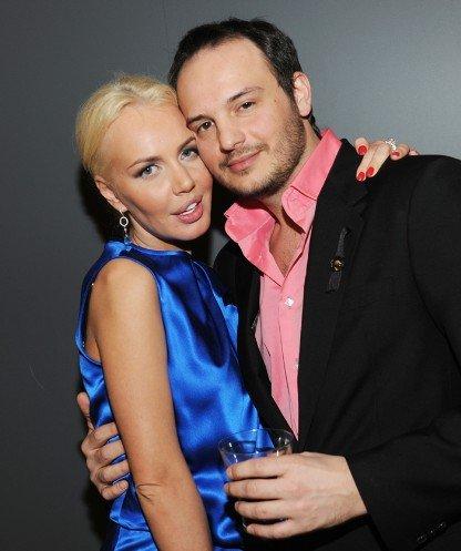 Маша Малиновская и ее муж Денис. Фото