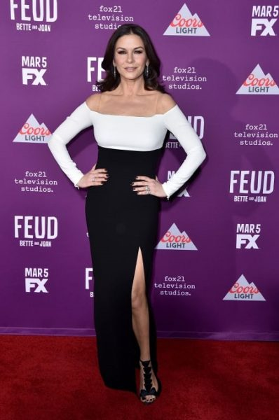 Актриса Кэтрин Зета-Джонс : фото с церемонии