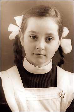 Ольга Кабо в детстве. Фото