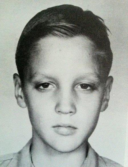 Элвис Пресли в детстве. Фото