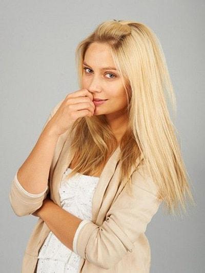 Актриса Рудова. Фотография