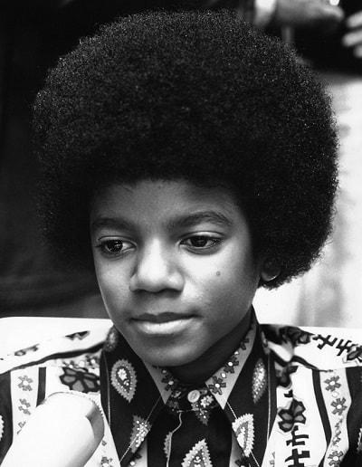 Майкл Джексон в детстве. Фото