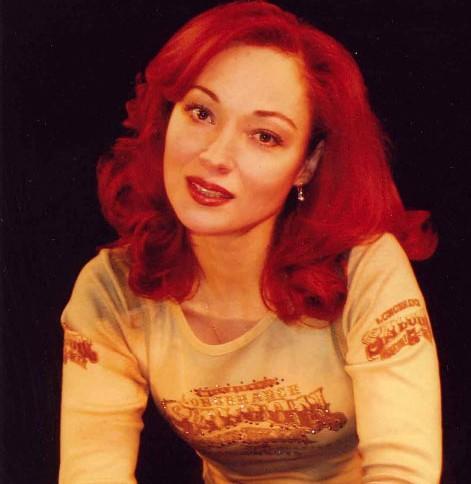 Виктория Тарасова в молодости. Фото