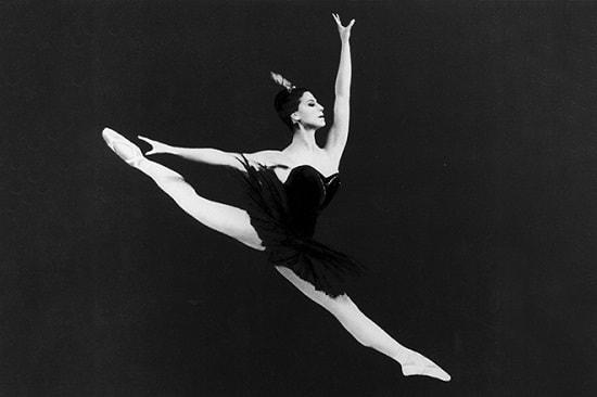 Балерина Плисецкая